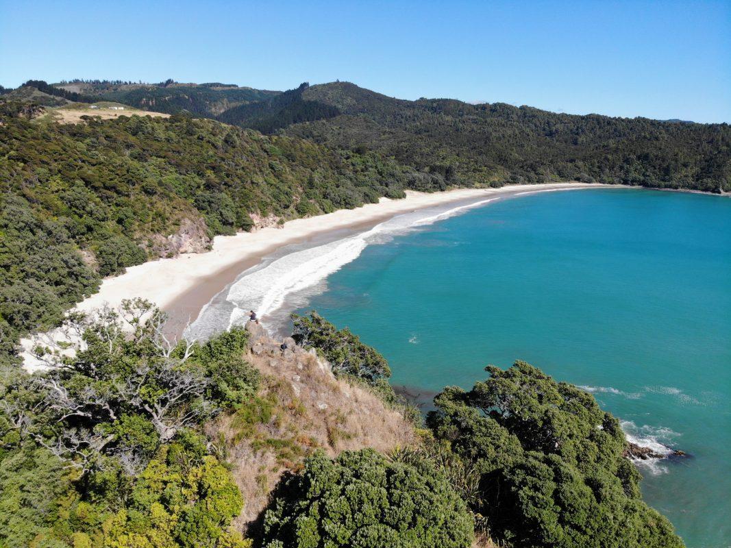 Nieuw Zeeland, Coromandel, New Chums Beach