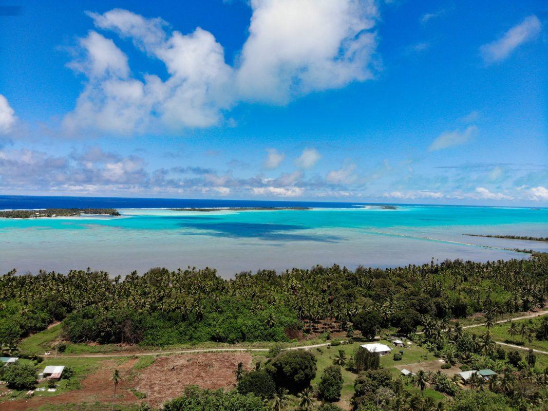 drone Aitutaki