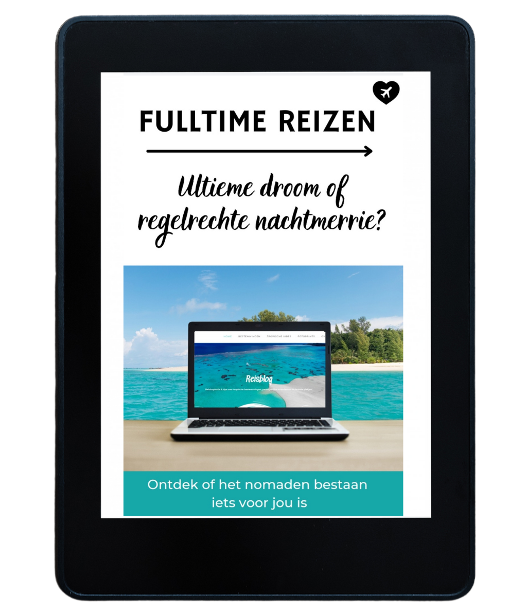 E-book fulltime reizen