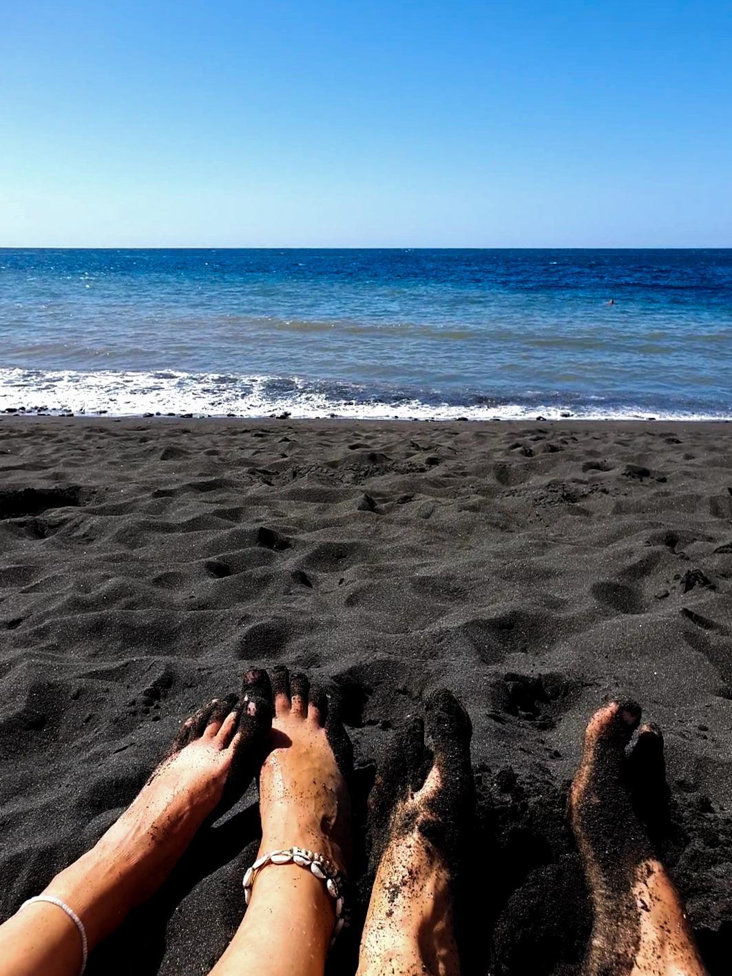BLACK SAND GUAYEDRA GRAN CANARIA