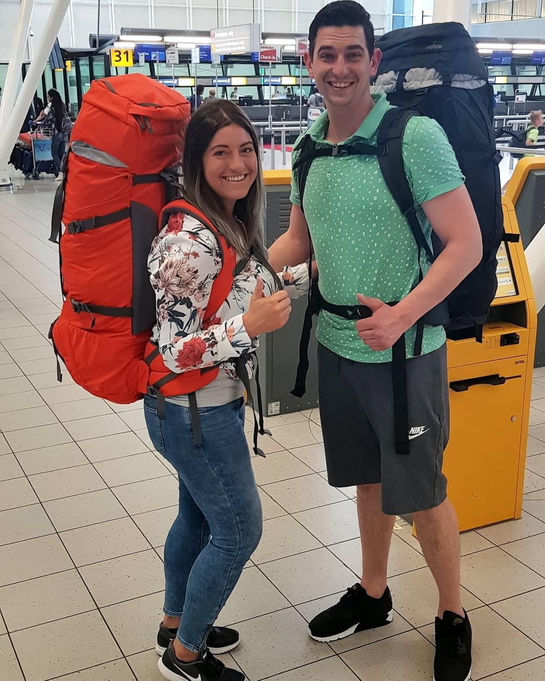 backpacken op reis