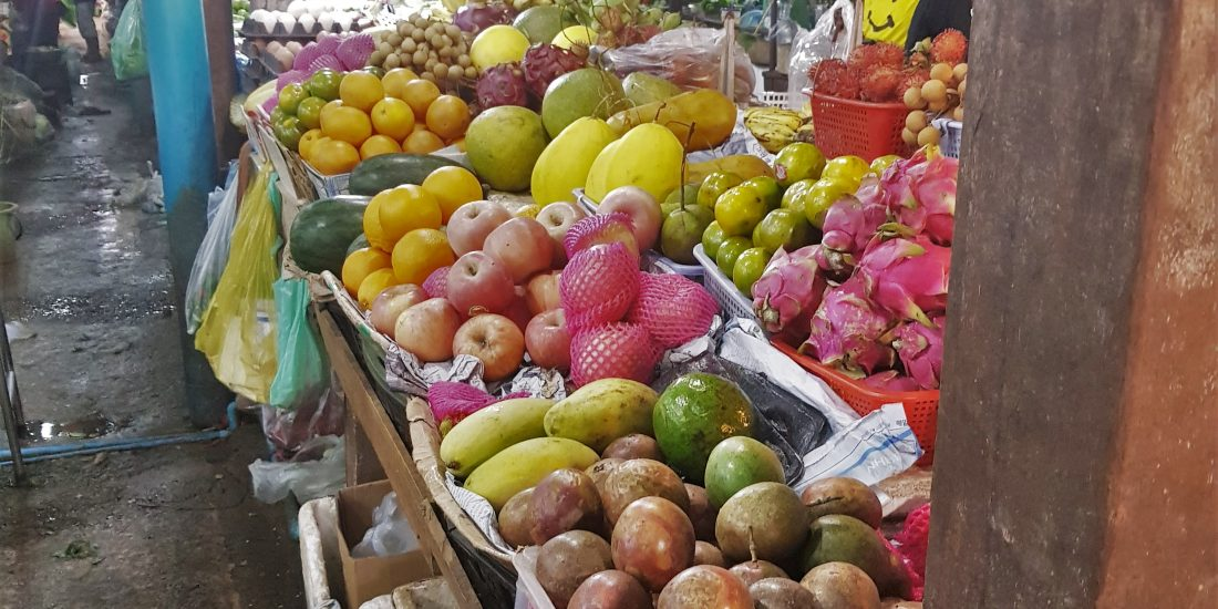 lokale markt azië