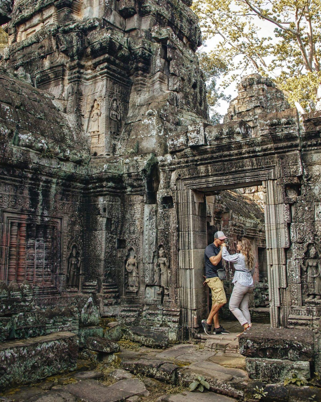 samen reizen cambodja