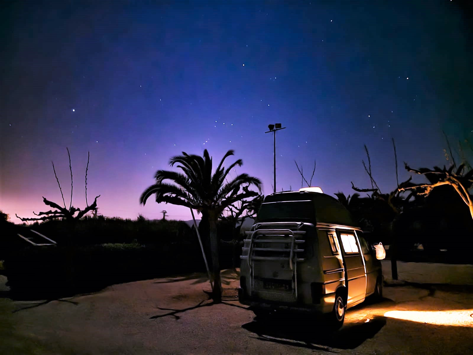 sterrenhemel roadtrip europa
