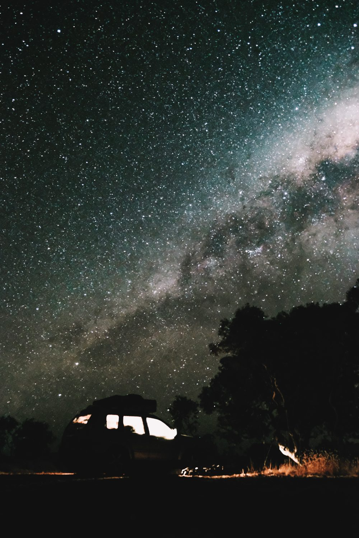 sterrenhemel op reis
